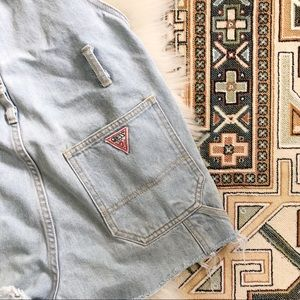 vintage | guess | overalls